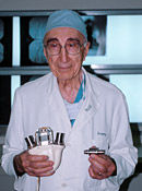 Michael DeBakey, M.D. biography portrait
