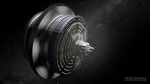 Space Settlement Milestone Kalpana exterior