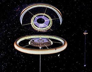 Space Settlement Milestone torus exterior
