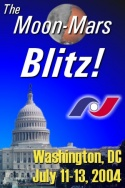 Moon mars space policy blitz