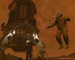 Titan Low G space art