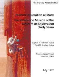 NASA Mars Reference Mission book cover