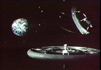 NASA: Space Colonization 1975 illustration