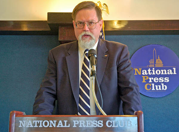 mark hopkins at national press club space solar power 2007 press conference
