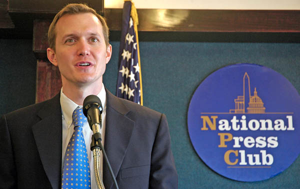 george whitesides at national press club space solar power 2007 press conference