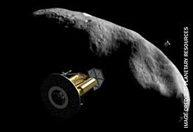 NEAs near earth asteroids Arkyd 200