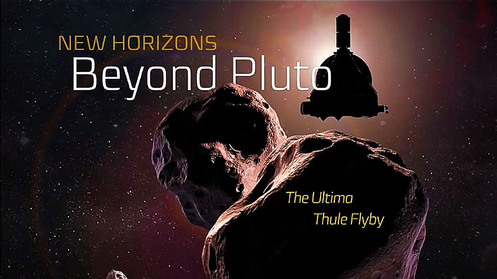 First New Horizons Ultima Thule Flyby Images Released