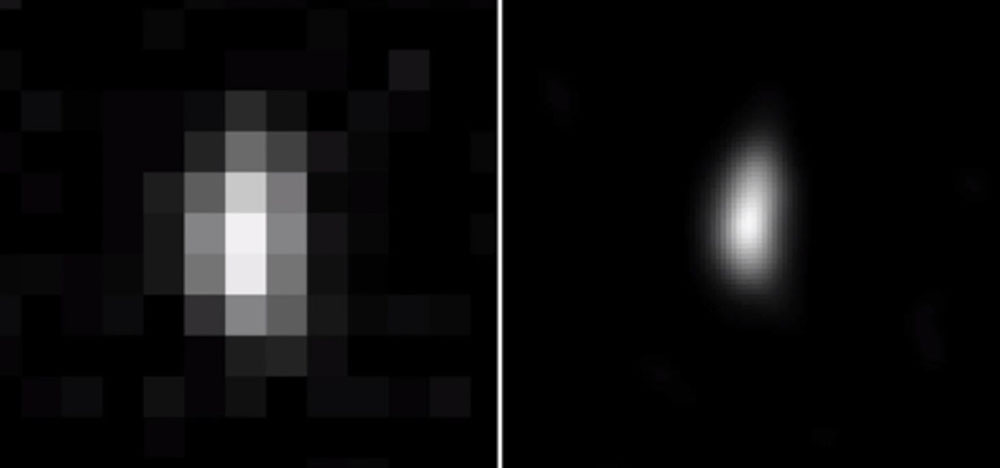 New Horizons pre-flyby image of Ultima Thule taken 12/31/18.