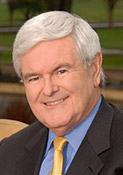 Newt Gingrich biography portrait