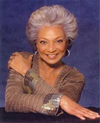 Nichelle Nichols biography portrait