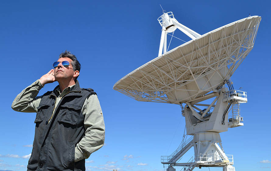 Geoffry Notkin at Very Large Array