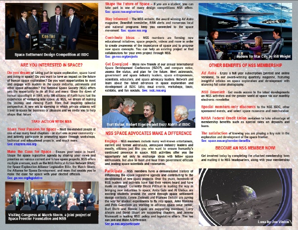 NSS Brochure ISS inside