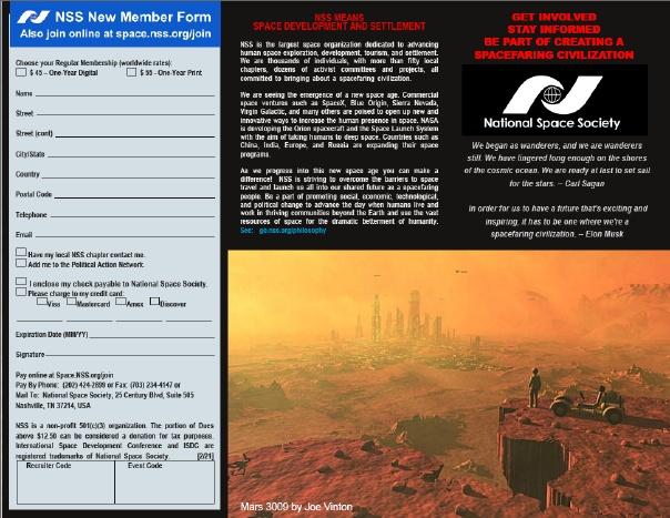 NSS Brochure Mars outside