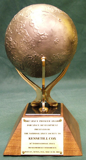 NSS Space Pioneer Award