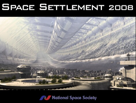 NSS Space Settlement Calendar 2008 cover