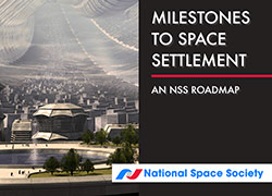 NSS Space Settlement Roadmap Milestones