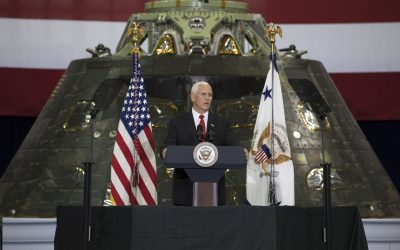 National Space Society Supports VP Pence's Call for Constant Low-Earth Orbit Human Presence Leading to the Settlement of Space