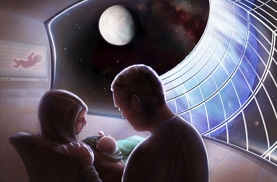 Pioneers of the Cosmos - Adrianna Allen