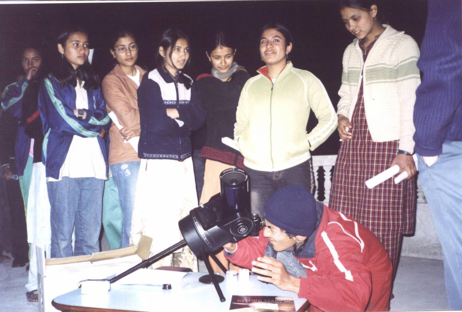 Pradipta Aligning Telescope