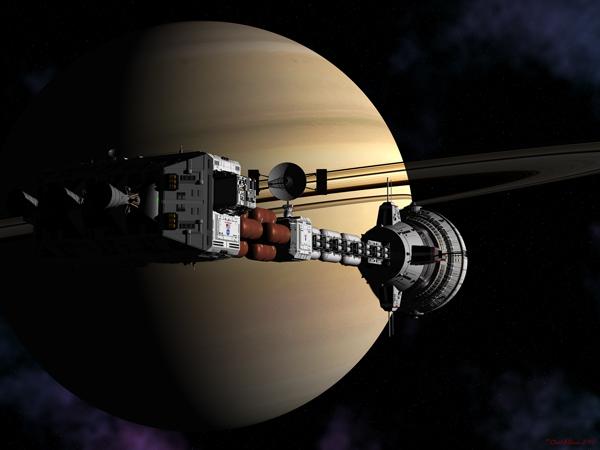 Cumberland at Saturn by David Robinson