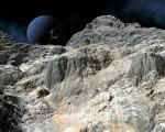 Neptune and Lander by David Robinson