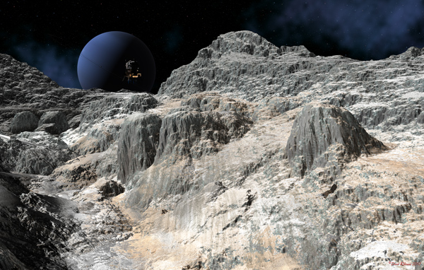 Neptune and Lander