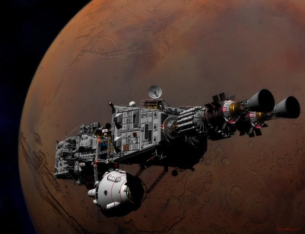 Shenandoah at Mars