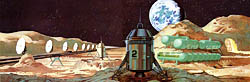 Lunar mass driver