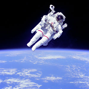 Shuttle Astronaut EVA