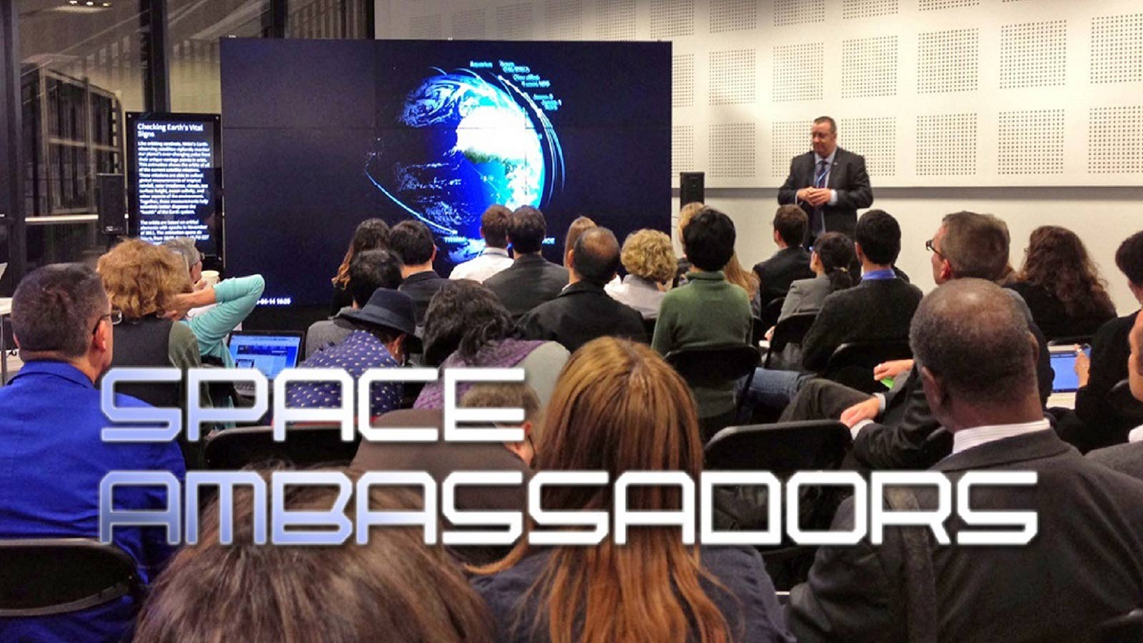A public presentation by a NSS Space Ambassador