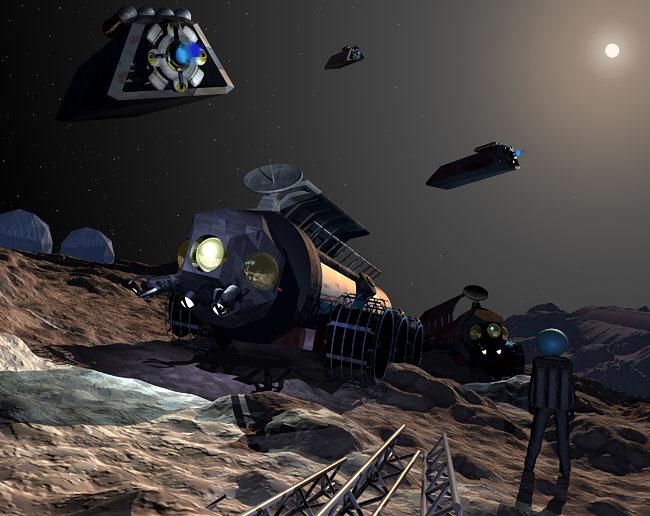 Space Settlement Art Contest: Asteroid Settlement Ida