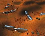 Space Settlement Art Contest Chaos 1 Mars Base