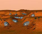 Space Settlement Art Contest Chaos 2 Mars Base