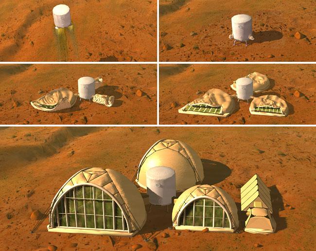 Space Settlement Art Contest: Deployment