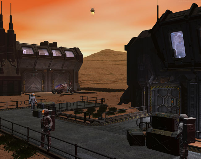 Space Settlement Art Contest: Mars Gardens