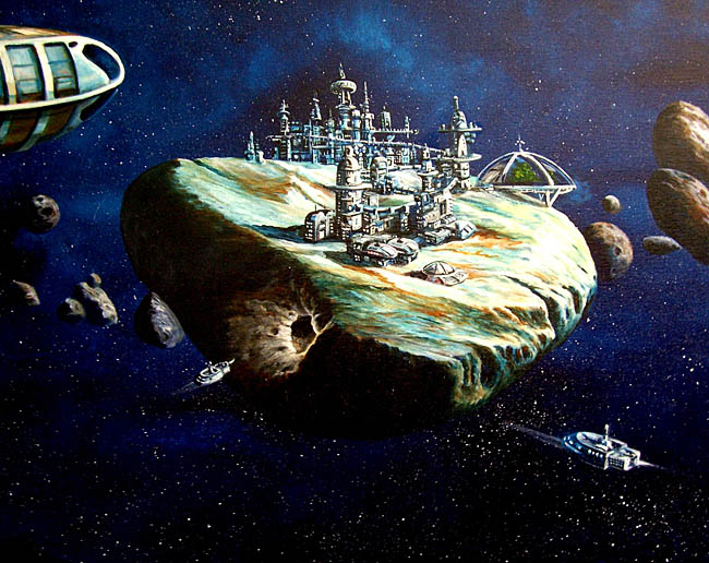 Space Settlement Art Contest Murphy Elliott Asteroid City