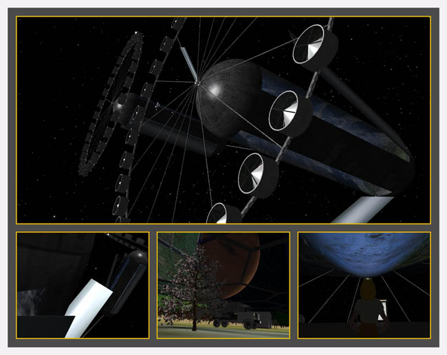 Space Settlement Art Contest Phil Batchelor Pioneers of The High Frontier