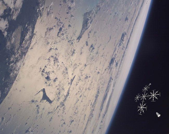 Space Settlement Art Contest: Port Gossamer