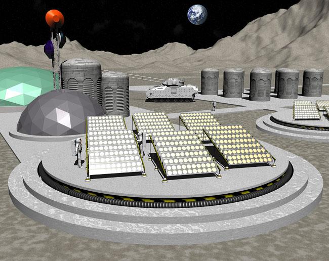 Space Settlement Art Contest: Prometheus One