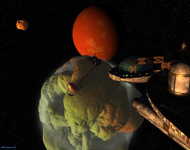 Space Settlement Art Contest: Resuplication