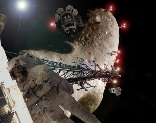 Space Settlement Art Contest: Stoners Rock