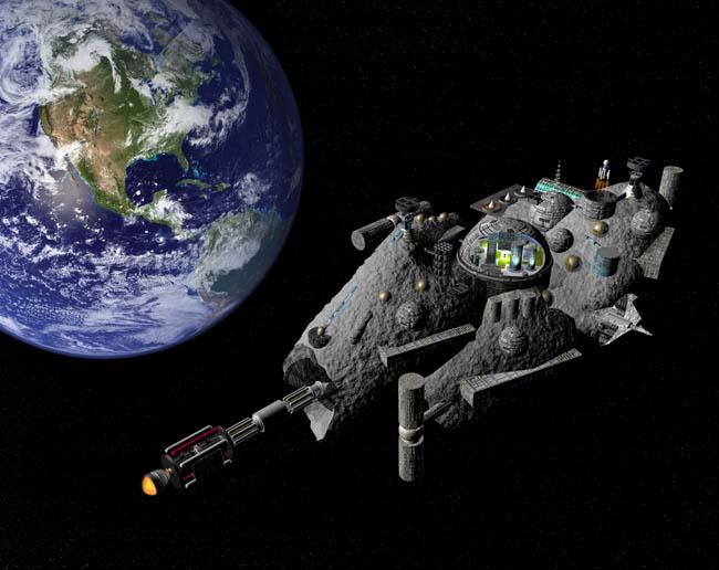 Space Settlement Art Contest: Terraston Orbital Mark Gearhart