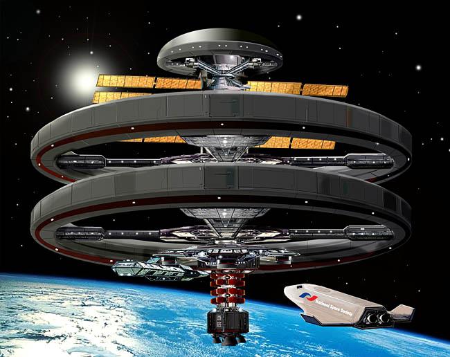 Space Settlement Art Contest Bill Wright The Aldrin Space Settlement