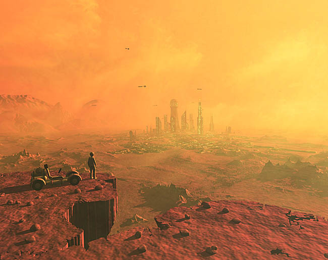 Space Settlement Art Contest: Mars 3009