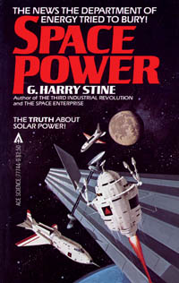 Space Power by Harry Stine Book Cover