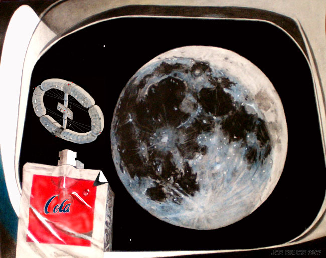Space Settlement Art Contest: On Approach to New Wapakoneta