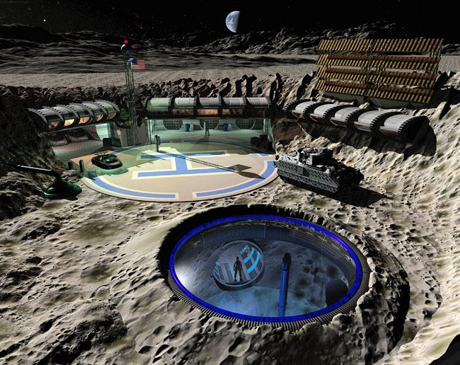 Space Settlement Art Contest: Aquarius One