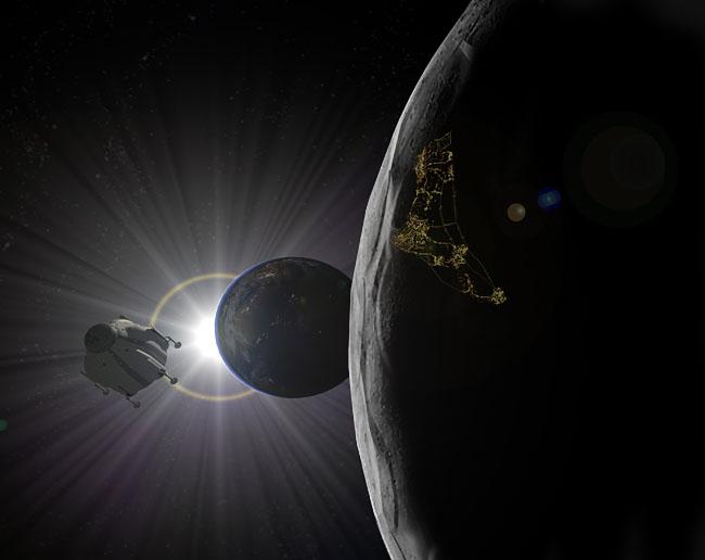 Space Settlement Art Contest Cassel Descent Into The Dark Side