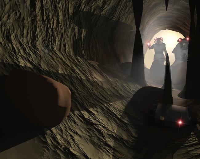 Space Settlement Art Contest Raymond Cassel The Lava Tube