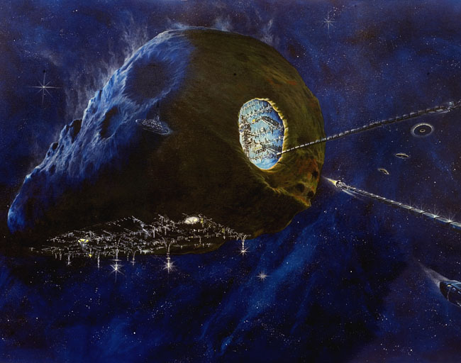 Space Settlement Art Contest: Tomorrow